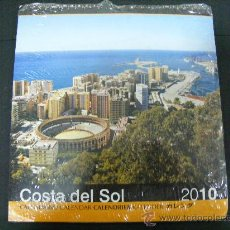 Coleccionismo deportivo: MALAGA - COSTA DEL SOL - 1 CALENDARIO COLGAR CON PRECINTO SIN ABRIR TIPO POSTER 20X20X40CM. Lote 30915249
