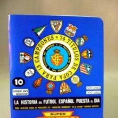 Coleccionismo deportivo: CALENDARIO, DINAMICO, SUPER DINAMICO, FUTBOL, 1980-1981, ESTADISTICA. Lote 31942904