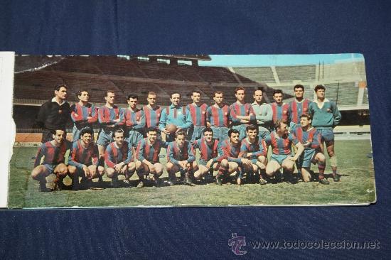 Coleccionismo deportivo: C.F. BARCELONA - CALENDARIO DE FUTBOL DE 1969 - COMPLETO, CON FOTOGRAFÍAS DE LOS JUGADORES - Foto 2 - 32302378
