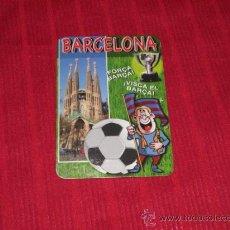 Calendario de bolsillo fútbol FC Barcelona