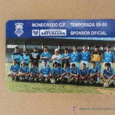 Coleccionismo deportivo: MONDOÑEDO C. F. TEMPORADA 89-90. Lote 32956933