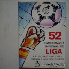 Coleccionismo deportivo: CAMPEONATO NACIONAL DE LIGA 1ª Y SEGUNDA DIVISION,1982-83.. Lote 33369363