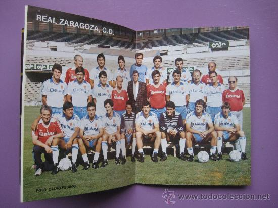 Coleccionismo deportivo: CALENDARIO DE FUTBOL DE LA LIGA 1986/87, . - Foto 3 - 34249142