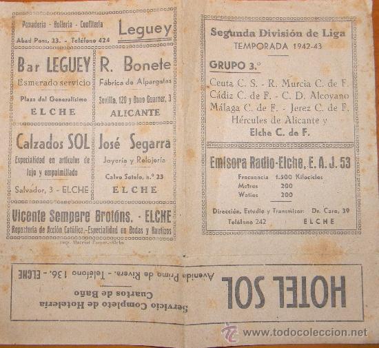 Calendario Liga Segunda.Calendario Liga Segunda Division Grupo 3 Con Publicidad Elche