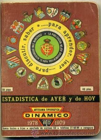 CALENDARIO DINÁMICO ESTADÍSTICA 1978 1979 (Coleccionismo Deportivo - Documentos de Deportes - Calendarios)