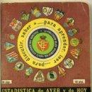 Coleccionismo deportivo: CALENDARIO DINÁMICO ESTADÍSTICA 1978 1979. Lote 35341411