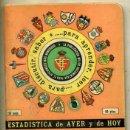 Coleccionismo deportivo: CALENDARIO DINÁMICO ESTADÍSTICA 1979 1980. Lote 35341431