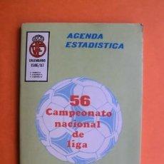 Coleccionismo deportivo: FÚTBOL AGENDA ESTADÍSTICA CALENDARIO DE LIGA 1986 / 1987 56 CAMPEONATO NACIONAL DE LIGA. Lote 35513966