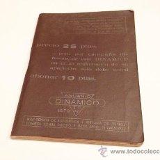 Coleccionismo deportivo: ANUARIO DINAMICO AÑO 1970 - 71. Lote 35572516