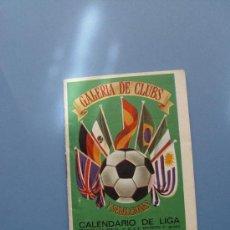 Coleccionismo deportivo: CALENDARIO DE LIGA. GALERÍA DE CLUBS Y SELECCIONES (1970-71) ¡A TODO COLOR!. Lote 37004510
