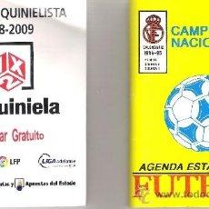 Coleccionismo deportivo: CALENDARIO 1994-95 - 64 CAMPEONATO NACIONAL DE LIGA * AGENDA ESTADÍSTICA DE FUTBOL *. Lote 37031711