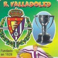 Coleccionismo deportivo: CALENDARIO FUTBOL - REAL VALLADOLID 2000. Lote 37312391