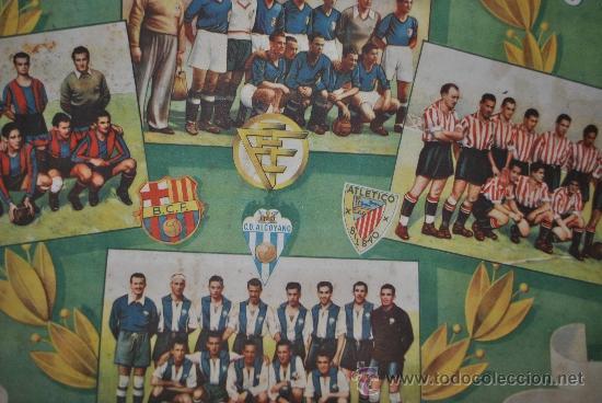 Coleccionismo deportivo: CALENDARIO DE FUTBOL 1945-1946 - Foto 7 - 37494904