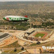 Coleccionismo deportivo: BARCELONA ANTES DE LAS OLIMPIADAS 92 (ESTADIO OLÍMPICO EN CONSTRUCCIÓN, A LA DERECHA SAN JORDI).. Lote 37567254