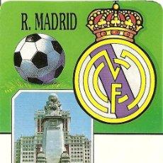 Coleccionismo deportivo: MUY INTERESANTE ALMANAQUE DE BOLSILLO - R. MADRID AÑO 1993 - PUBLICIDAD EN REVERSO (VISITAR). Lote 37567359