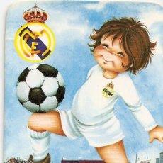 Coleccionismo deportivo: MUY INTERESANTE ALMANAQUE DE BOLSILLO - JUGADOR - R.MADRID - PUBLICIDAD EN REVERSO (VISITAR). Lote 37567559