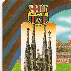 Coleccionismo deportivo: MUY INTERESANTE ALMANAQUE - F.C.BARCELONA SAGRADA FAMILIA - PUBLICIDAD EN REVERSO (VISITAR). Lote 37567797