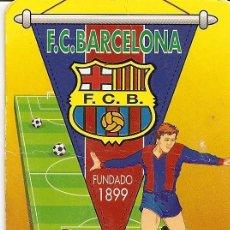Coleccionismo deportivo: MUY INTERESANTE ALMANAQUE - F.C.BARCELONA FUNDADO 1899 NUEVO 1957 - PUBLICIDAD EN REVERSO (VISITAR). Lote 37567837