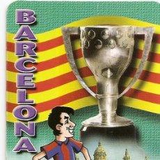 Coleccionismo deportivo: MUY INTERESANTE ALMANAQUE DE BOLSILLO - F.C.BARCELONA JUGADOR COPA - PUBLICIDAD EN REVERSO (VISITAR). Lote 37567891