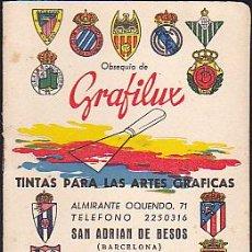 Coleccionismo deportivo: CALENDARIO DINAMICO FUTBOL . Lote 37767761