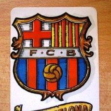 Coleccionismo deportivo: CALENDARIO BOLSILLO: BARCELONA F.C. ESCUDO (AÑO 1995). Lote 38532035