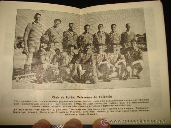 Coleccionismo deportivo: Antiguo Calendario Campeonato Nacional de Liga 1957-58 de Calzados DALMAU Valencia - Foto 5 - 39059890