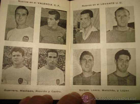 Coleccionismo deportivo: Antiguo Calendario Campeonato Nacional de Liga 1957-58 de Calzados DALMAU Valencia - Foto 4 - 39059890