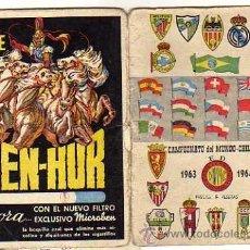Coleccionismo deportivo: CALENDARIO DINÁMICO FÚTBOL, TEMPORADA 1963-1964, CAMPEONATO DEL MUNDO CHILE 1962. Lote 39470688