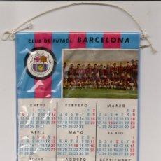Coleccionismo deportivo: BANDERIN CALENDARIO CLUB DE FUTBOL BARCELONA AÑO 1969. Lote 39484259