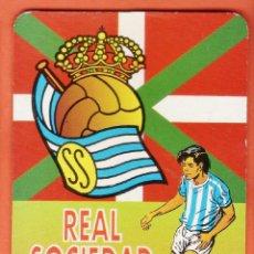 Coleccionismo deportivo: CALENDARIO BOLSILLO - REAL SOCIEDAD - REVERSO SIN PUBLICIDAD - AÑO 1997 - RD27. Lote 39695821