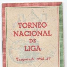 Coleccionismo deportivo: 5206- CALENDARIO LIGA 1956/57- 1ª Y 2ª DIVISION. Lote 39722289