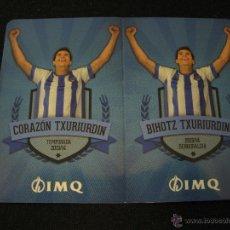 Coleccionismo deportivo: CALENDARIO REAL SOCIEDAD TEMPORADA 2013-2014. Lote 39972364