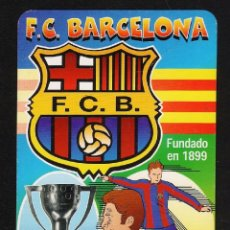 Coleccionismo deportivo: CALENDARIO BOLSILLO - FC BARCELONA / BARÇA - BAR GRANJA LA FUENTE / BARCELONA - AÑO 2000 -. Lote 40041127