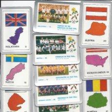 Coleccionismo deportivo: 5670- 40 CALENDARIOS PORTUGUESES 1986- ITALIA 90- TAMBIEN SE VENDEN SUELTOS. Lote 40532414