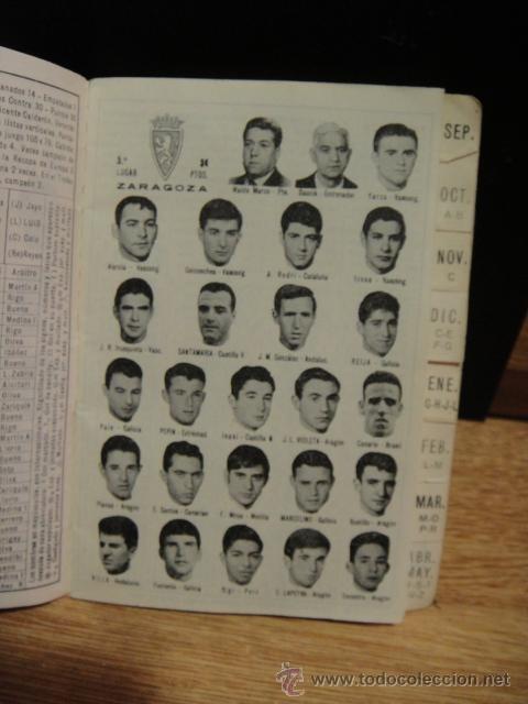 Coleccionismo deportivo: calendario dinamico temporada 1967 - 1968 - original - Foto 3 - 41242159