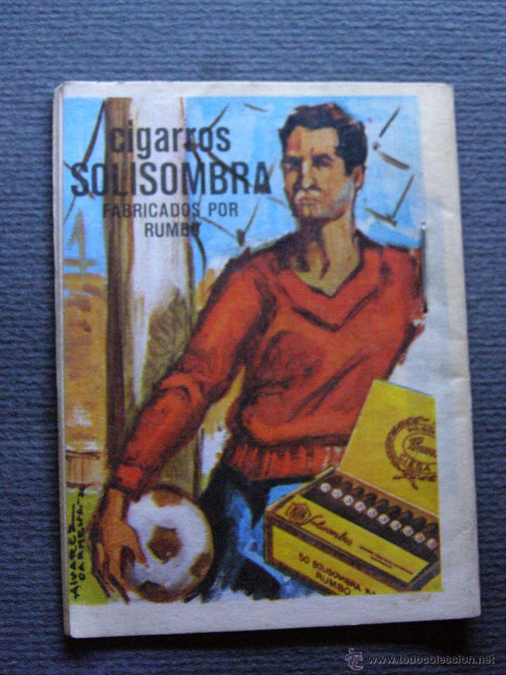Coleccionismo deportivo: CALENDARIO DINÁMICO DE LIGA 1972-73 - Cigarros Solisombra - Goya - Foto 2 - 41692468