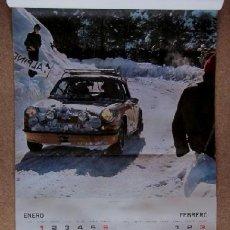 Coleccionismo deportivo: RALLYE FIRESTONE - CALENDARIO AÑO 1974. Lote 42319282