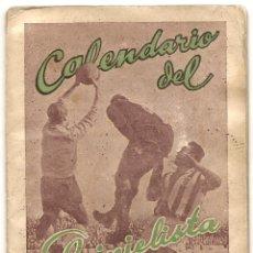 Coleccionismo deportivo: CALENDARIO DEL QUINIELISTA. 1957-58. Lote 43018602