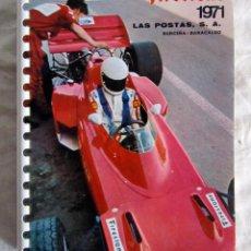 Coleccionismo deportivo: CALENDARIO FIRESTONE 1971. CAMPEONATO MUNDIAL DE FORMULA 1. 1970.. Lote 43368074