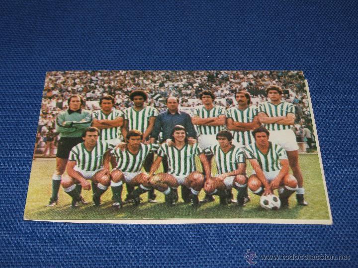 CALENDARIO DE DE PRIMERA DIVISION DE LA TEMPORADA 1980/81 - REAL BETIS - PUBLICIDAD BASCULAS MONTAÑ (Coleccionismo Deportivo - Documentos de Deportes - Calendarios)