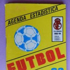 Coleccionismo deportivo: 63 CALENDARIO CAMPEONATO NACIONAL DE LIGA 93/94 - AGENDA ESTADISTICA - SEGUNDA B TEMPORADA 1993/1994. Lote 44337069