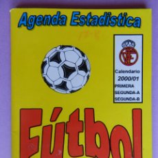 Coleccionismo deportivo: 70 CALENDARIO CAMPEONATO NACIONAL DE LIGA 00/01 - AGENDA ESTADISTICA - SEGUNDA B TEMPORADA 2000/2001. Lote 44337117