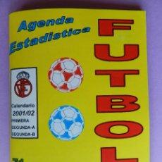 Coleccionismo deportivo: 71 CALENDARIO CAMPEONATO NACIONAL DE LIGA 01/02 - AGENDA ESTADISTICA - SEGUNDA B TEMPORADA 2001/2002. Lote 44337123