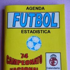Coleccionismo deportivo: 74 CALENDARIO CAMPEONATO NACIONAL DE LIGA 04/05 - AGENDA ESTADISTICA - SEGUNDA B TEMPORADA 2004/2005. Lote 44337140