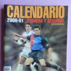Coleccionismo deportivo: EXTRA DON BALON CALENDARIO PRIMERA Y SEGUNDA DIVISION 2000/2001 ESPECIAL BOLSILLO LIGA 00/01 FUTBOL. Lote 44342011