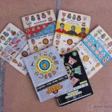 Coleccionismo deportivo: 6 CALENDARIOS DINAMICO 1963-64 / 64-65 / 67-68 / 69-70 /71-72 / 81-82 CALENDARIO. Lote 44701419
