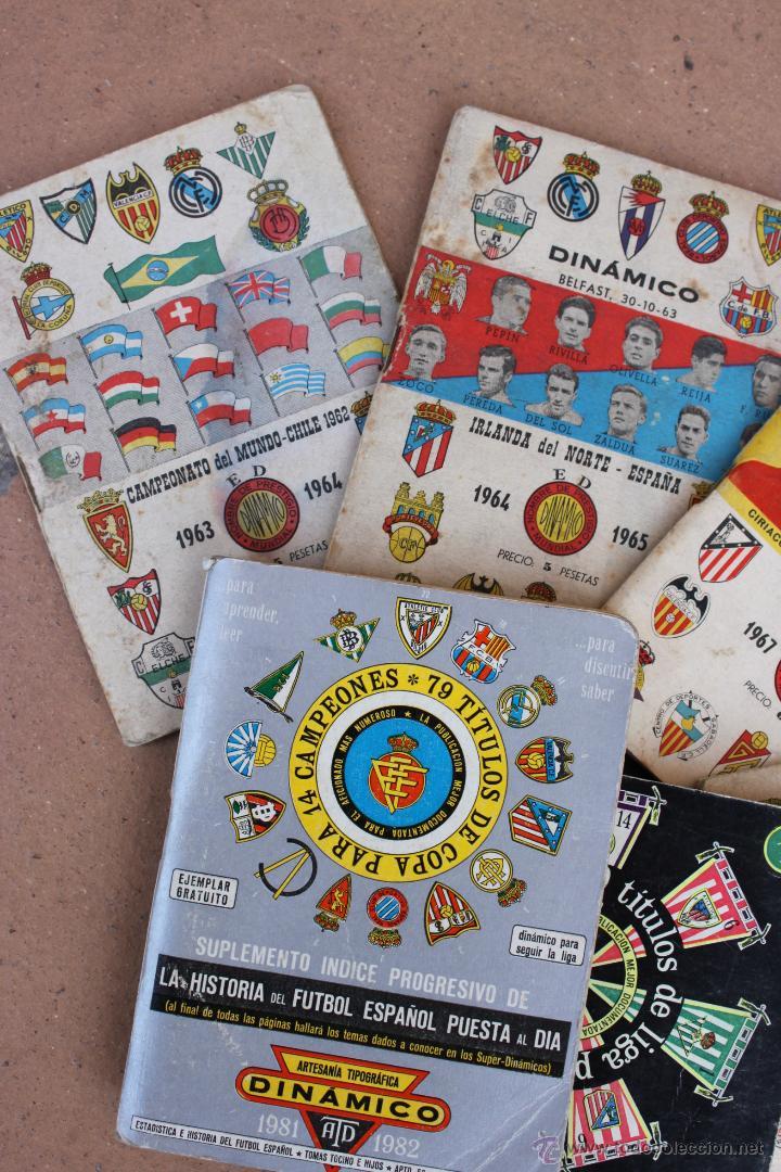 Coleccionismo deportivo: 6 CALENDARIOS DINAMICO 1963-64 / 64-65 / 67-68 / 69-70 /71-72 / 81-82 CALENDARIO - Foto 2 - 44701419
