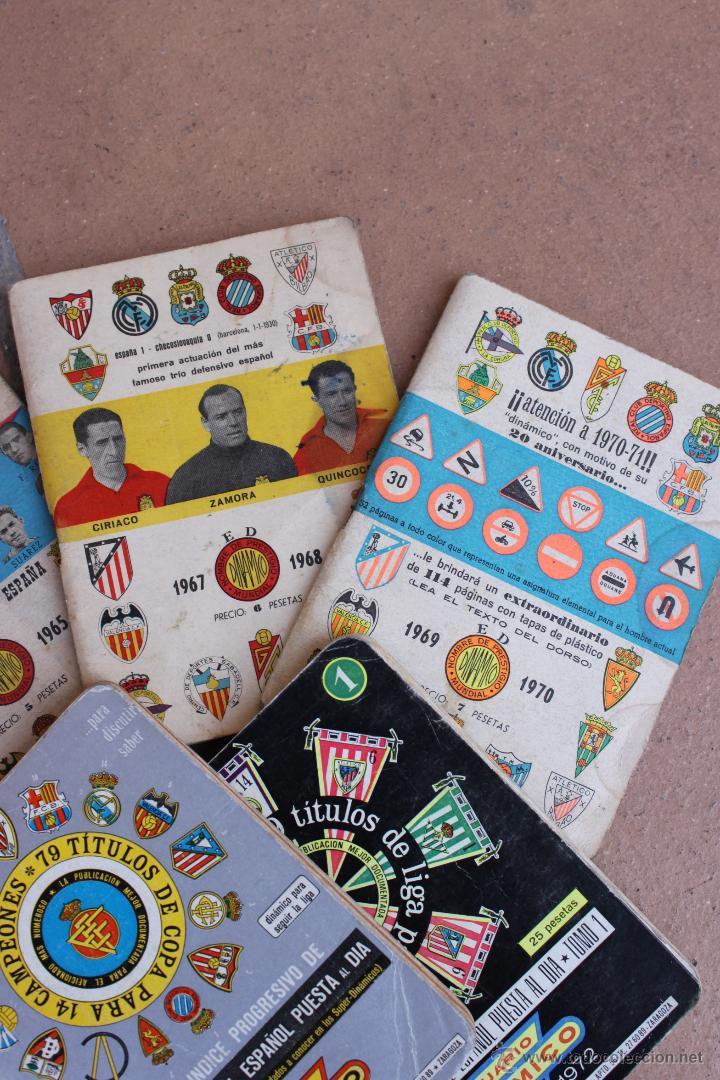 Coleccionismo deportivo: 6 CALENDARIOS DINAMICO 1963-64 / 64-65 / 67-68 / 69-70 /71-72 / 81-82 CALENDARIO - Foto 3 - 44701419