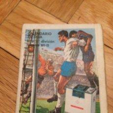 Coleccionismo deportivo: CALENDARIO DE LA LIGA 1971 1972 DINAMICO SIN USAR. Lote 45000708