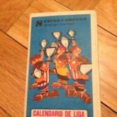 Coleccionismo deportivo: CALENDARIO DE LA LIGA 1966 1967 DINAMICO SIN USAR. Lote 45000761